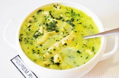 Суп из шпината - пошаговый рецепт с фото: как приготовить