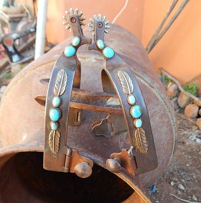 The Mad Cow Company Unique Western Rustic Jewelry and more   Bits and Spurs ROPER SPUR $195pair