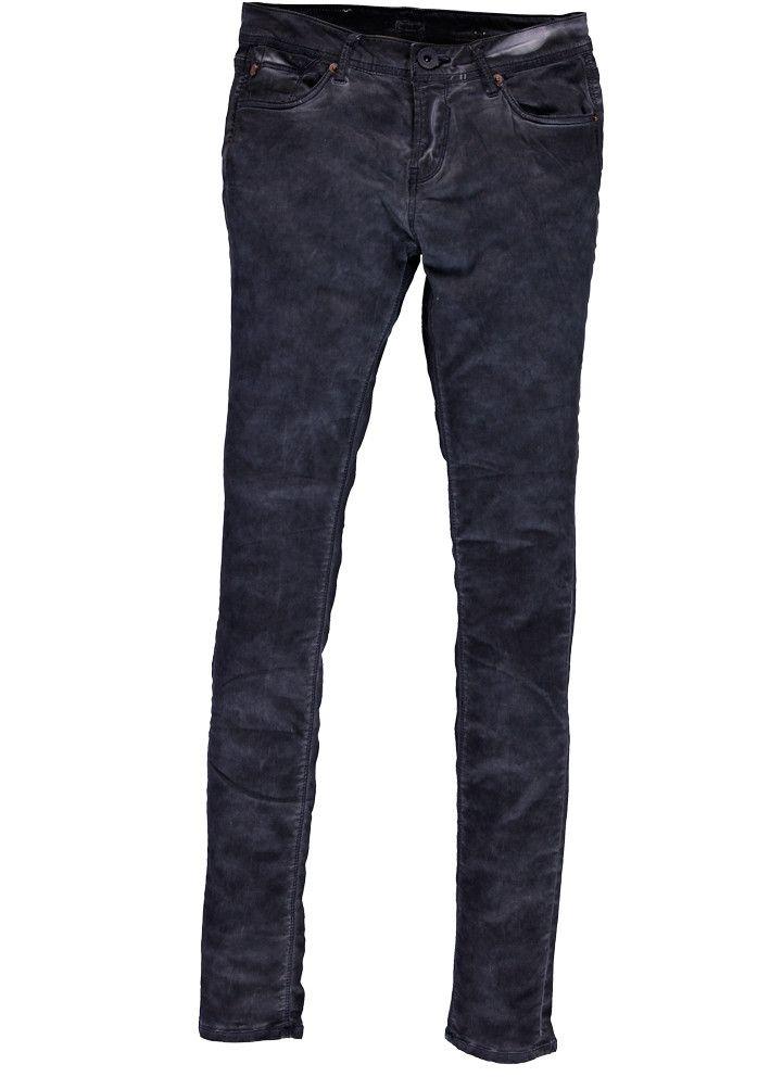Garcia Jeans grå/blå U60117 Rachelle ladies pants - washed indigo – Acorns