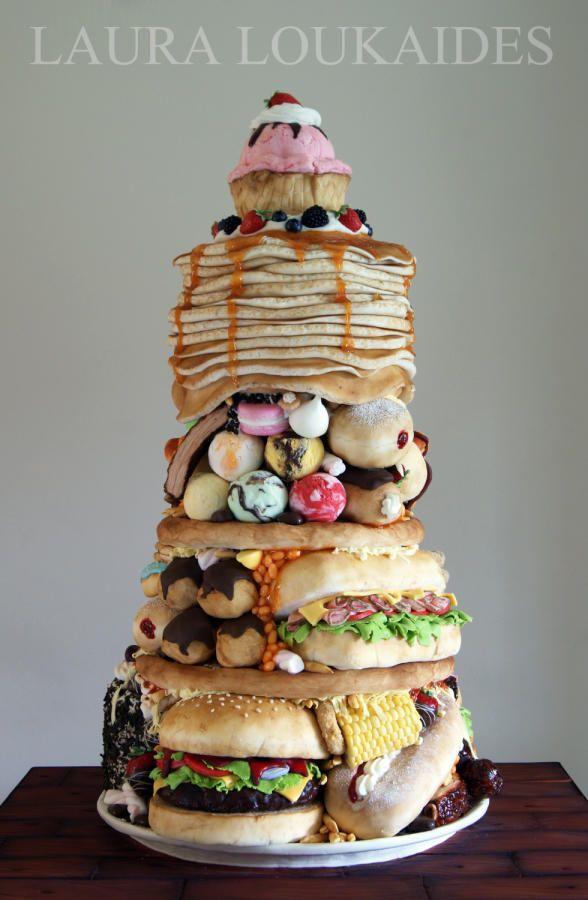 "www.cakecoachonline.com - sharing... ""The Big Eater"" - Cake International 2014 - Cake by Laura Loukaides"