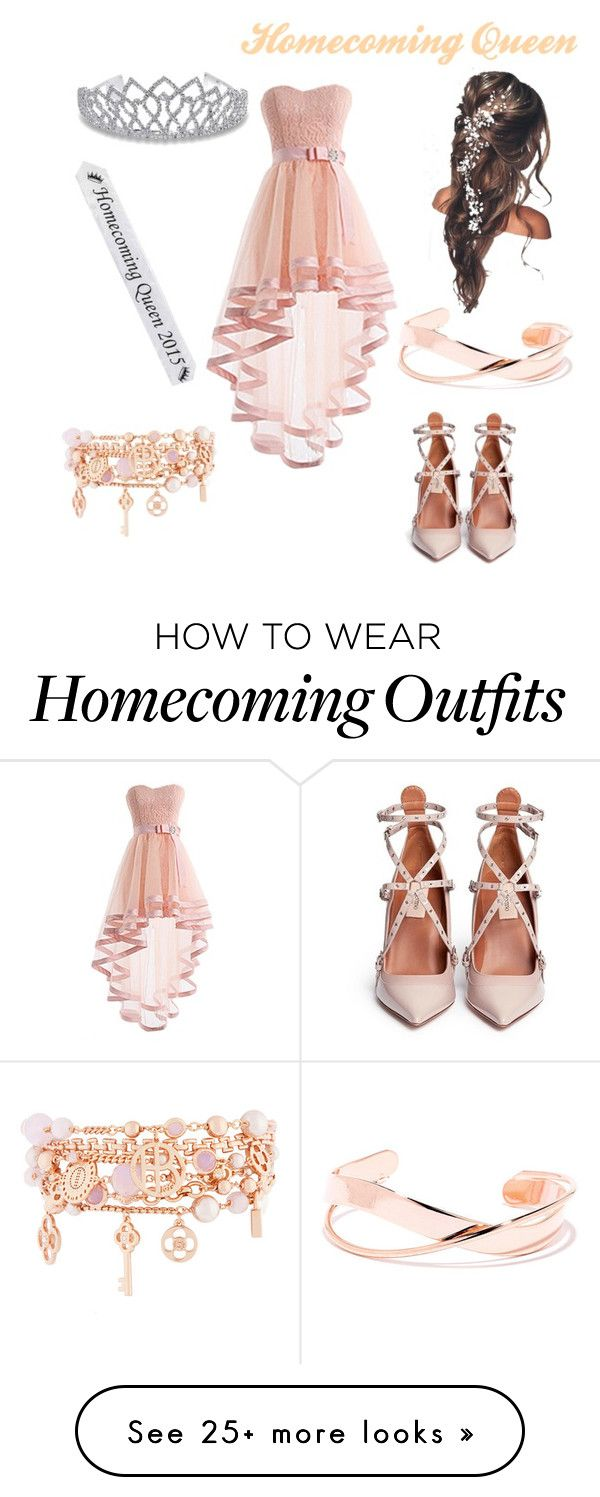 """""""Homecoming Queen"""" by fitforaqueenstyles on Polyvore featuring Valentino, Henri Bendel and Bling Jewelry"""