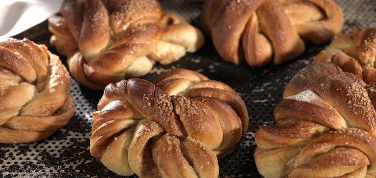 Kanelknuter fra Bakeriet i Lom