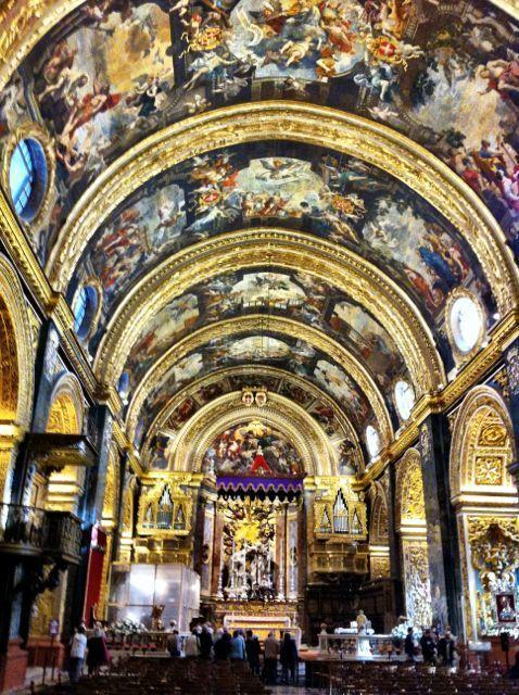 Impressions of Malta - St. Johns Co-Cathedral, #Valletta, Malta.