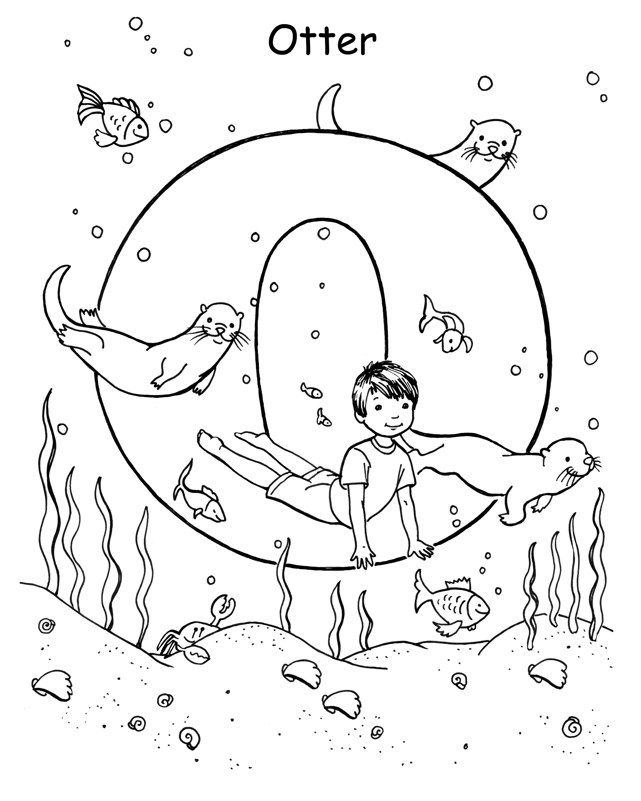 yoga coloring pages for kids - photo#21