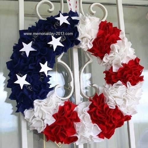 4th of July wreath, I want to try and do a Texas