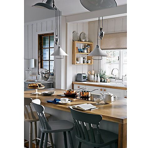 If Thereu0027s One Thing That Instantly Updates A Country Kitchen, Itu0027s Touches  Of Gold, Copper And Pewter.