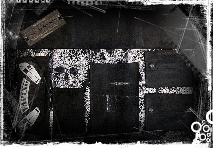 """Weiteres - #Dampfer Tasche """"Dampfer-BIG"""",#E-Zigaretten Tasche - ein Designerstück von Dampfer-Taschen-Joclame bei DaWanda"""