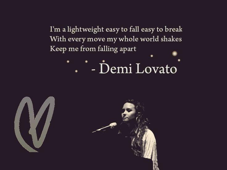 Lyrics From Lightweight Demi Lovato Demi Lovato Lightweight