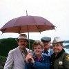 Murder She Wrote John Astin, Angela Lansbury, William Windom, Tom Bosley C. 1985 CBS
