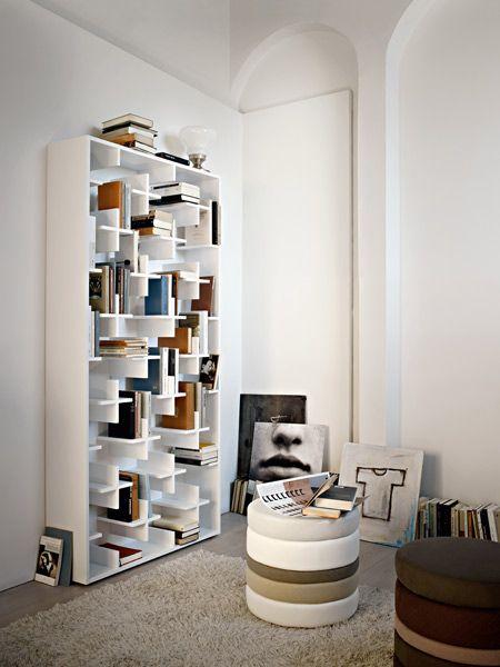 Open MDF bookcase TARGET - Arketipo