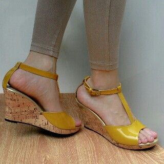 Swy shoes .homemade shoes product.wedges 7cm. 120.000 idr.contact order / Wa : +62817206686