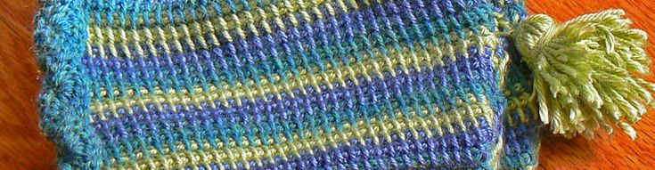 A study in flattening curl   A Quest for Beauty & Utility through Tunisian Crochet
