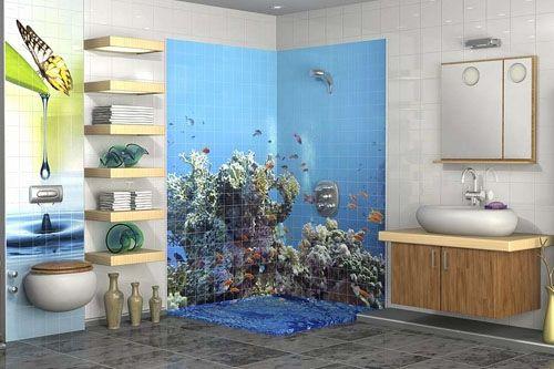Banyo 3D Cam Mozaik  BNY  1973 -1