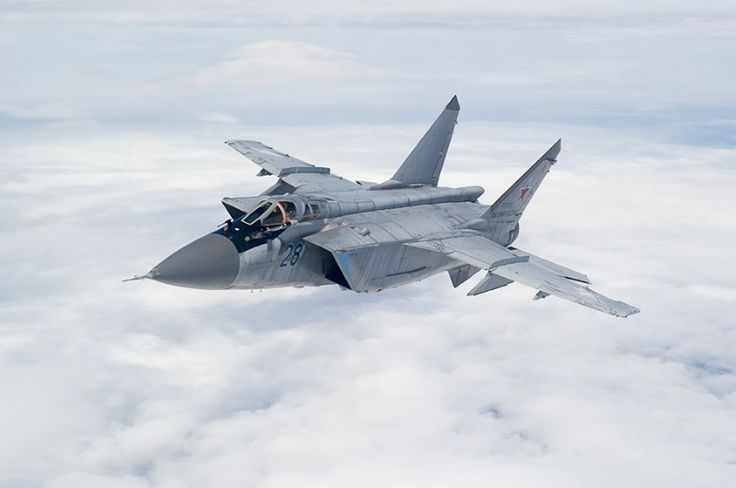 """15 photos of the MiG-31, the Russian fighter jet that can chase away SR-71 Blackbirds  -  September 5, 2017: This is why it's been dubbed a """"Mach 3 Monster"""" by The National Interest."""