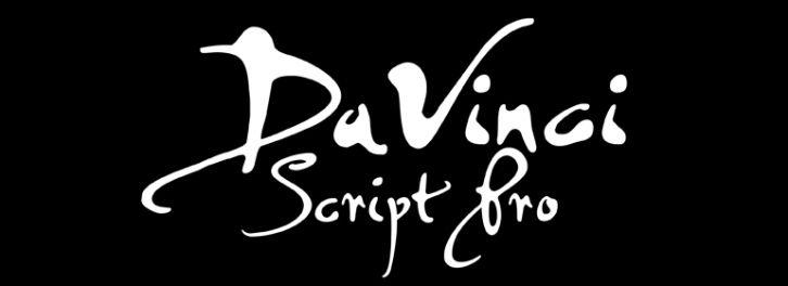 PF DaVinci Script font download