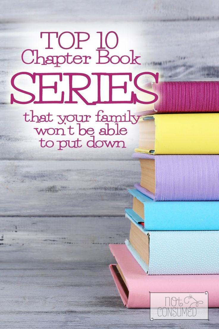 Top Chapter Book Series For Families
