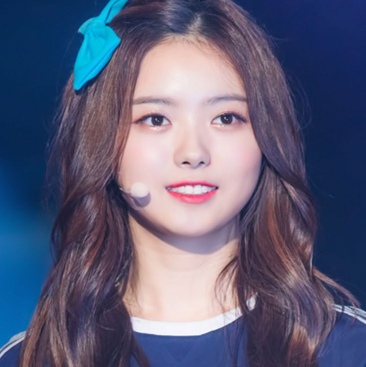 This is a picture of Na-young Lim from the Kpop girl band PRISTIN.