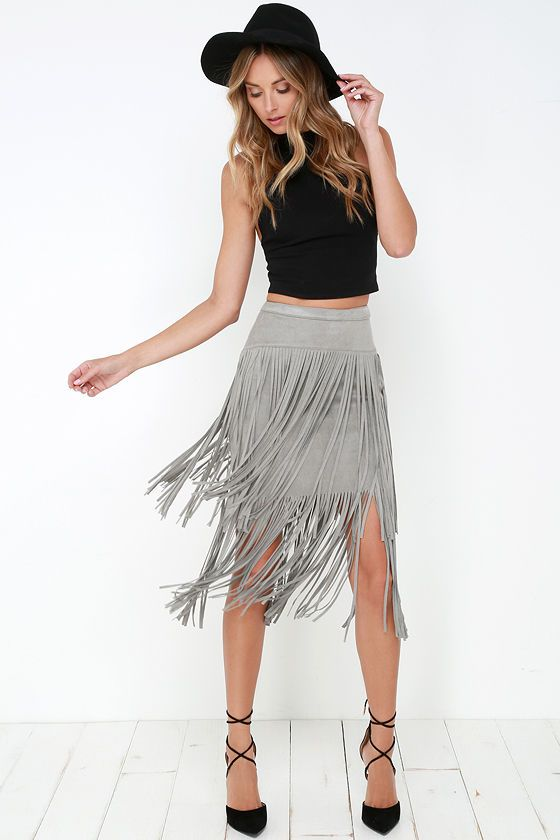 Best 25  Fringe skirt ideas on Pinterest | Leather fringe, Leather ...