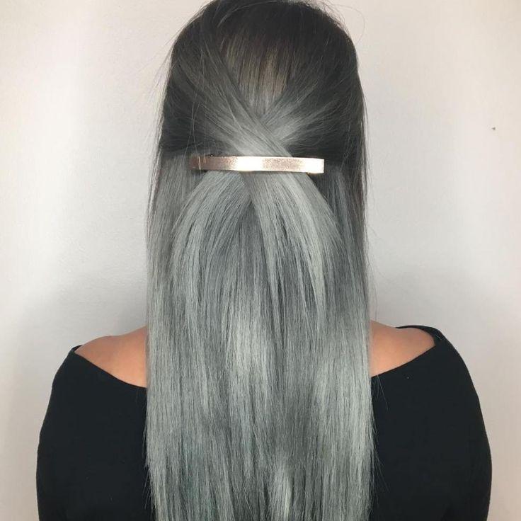 Gray Ombre Hair