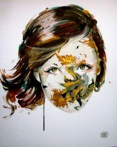 Image of Sandra Chevrier: La cage immunisée à tes charmes 14''x 17''