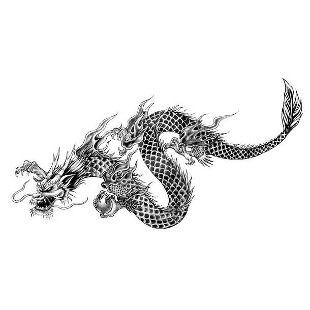 Cool Chinese Dragon Tattoo Design Cool Chinese Dragon Tattoo Design A Cool Oriental Tattoo Ar In 2020 Chinese Dragon Tattoos Dragon Tattoo Designs Oriental Tattoo