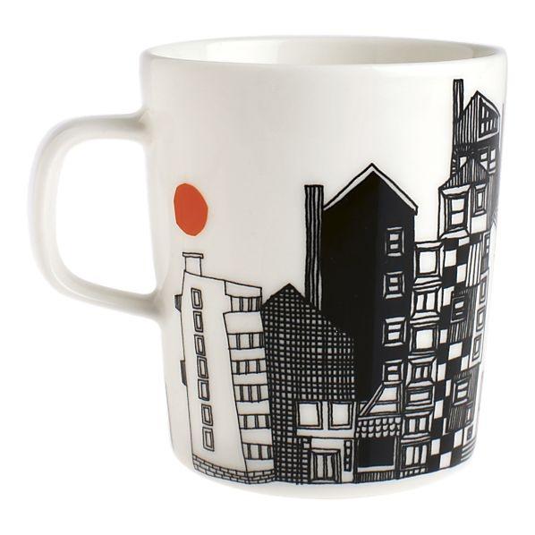 http://www.crateandbarrel.com/the-marimekko-shop/marimekko-kitchenwares/marimekko-siirtolapuutarha-mug/s139656 #marimekko #mug from #crateandbarrel
