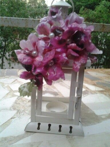 Sospesso candle stand done by me....