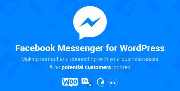 Download Facebook Messenger WordPress v2.3 Free