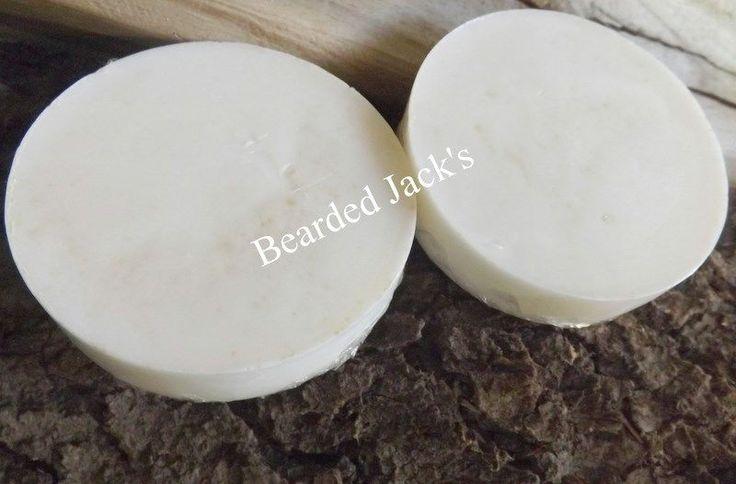BEARDED JACK'S  Premium  Shaving Soap - BARBER SHOP  2.5 OUNCE #BeardedJacks