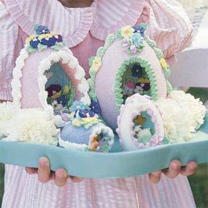 Make your own sugar eggs