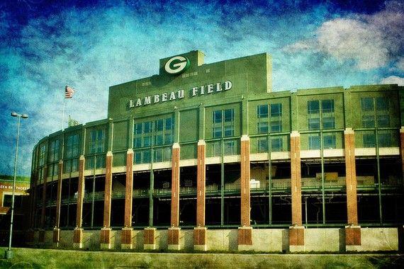 Lalalalalala Lambeau Field, SALE, 10x15, Green Bay Packers, Fine Art Photo, Aaron Rodgers, Super Bowl, NFL - Home Decor