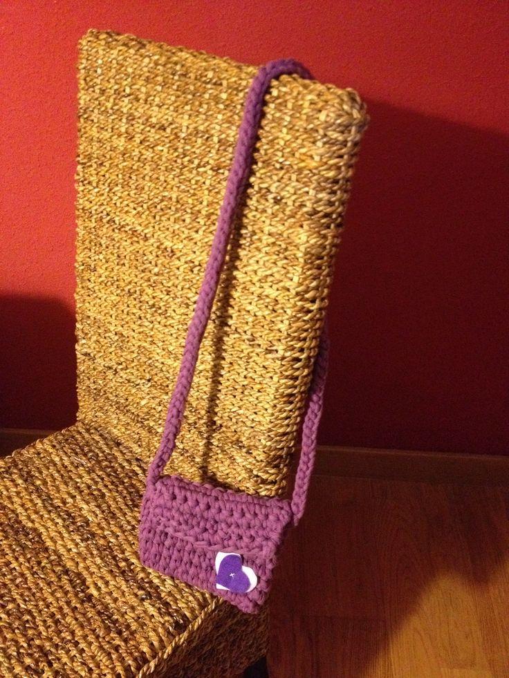 Bolso trapillo bolsos ganchillo pinterest crochet for Bolso crochet trapillo