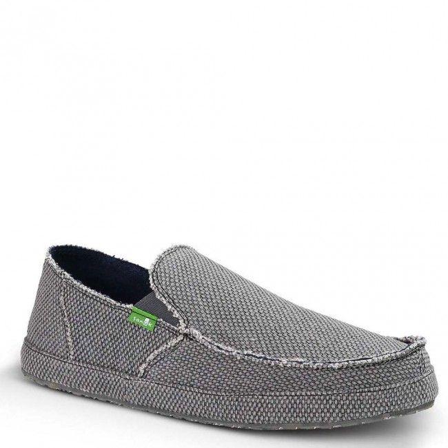 SMF10113-CHR Sanuk Men's Rounder Casual Shoes - Charcoal www.bootbay.com