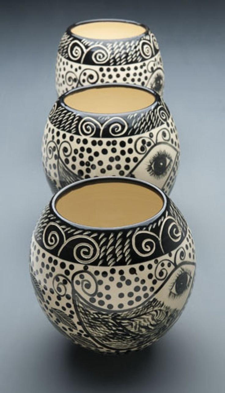 Black & White vases