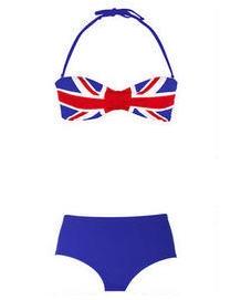 irish flag bikini