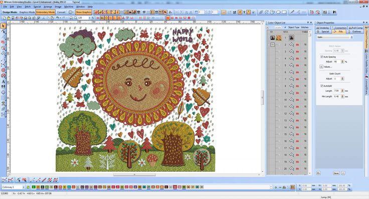 Wilcom Embroidery Screenshots