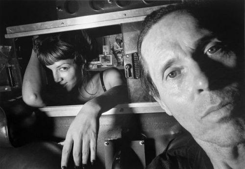 Ryan Weideman. Self-Portrait with Coy Female. 1997  [::SemAp...