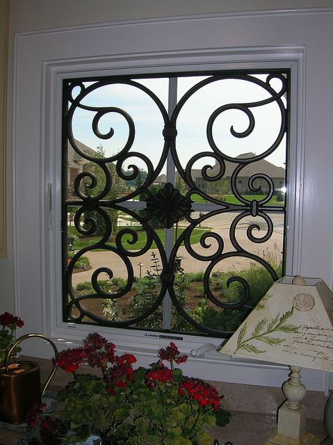Best tableaux faux iron window treatments images on