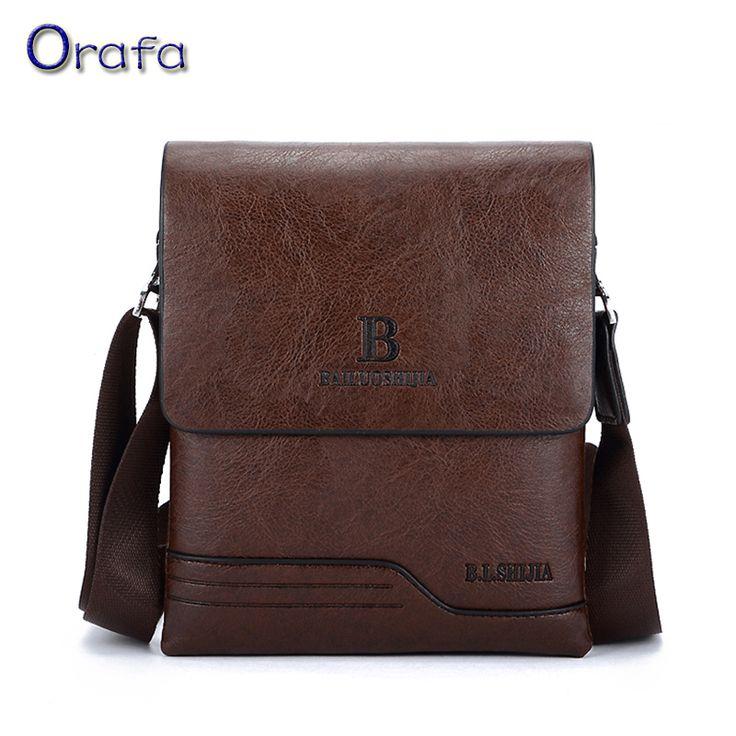 Men Bag New 2016 Vintage Fashion Genuine leather bag men messenger shoulder travel bags Zipper Male Bag