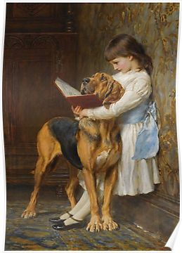 Briton Riviere - Reading Lesson Compulsory Education