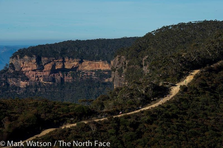 TNF100 is a combination of fire trail and narrow walking tracks including some very steep sections on staircases, on ladders, on dirt and on rock and sections that are rough under foot...but LOOK at the view! Fox Creek are a proud sponsor of the 2013 TNF100 | www.foxcreekwines.com