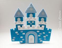 castelo frozen de feltro - Pesquisa Google