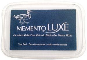 Memento Luxe TEAL ZEAL Ink Pad Tsukineko ML-602