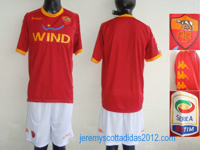 AS Roma Home Soccer Jersey