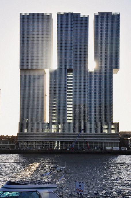 De Rotterdam. Rotterdam. Architecte Rem Koolhaas
