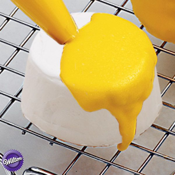 Make your own Quick-Pour Fondant Icing. It's a great choice for covering cakes, cupcakes, cookies or petits fours with a dazzling silky finish.