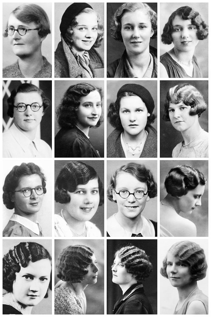 Short hairstyles 2016 women in 30s - Pg 3 1930 S Hairstyles A Collection Of 1930 S The Vintage Thimble 1930s Hairstylesfemale Hairstyles1930s Fashionvintage