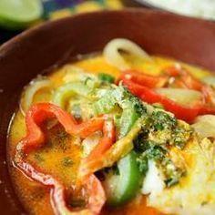 Recipe photo: Moqueca de peixe baiana (Brazilian fish stew)