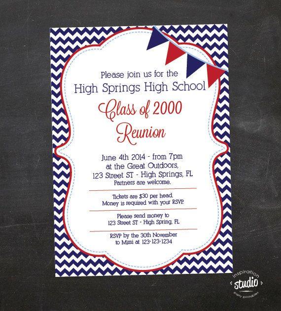 Best 25+ Class reunion invitations ideas on Pinterest ...