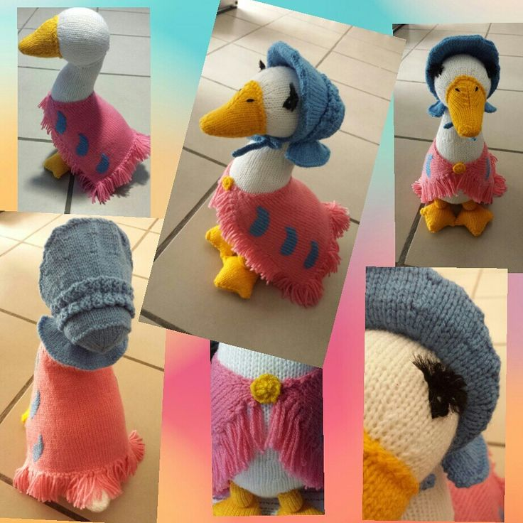 Jemima Puddle Duck.  #AlanDartPattern